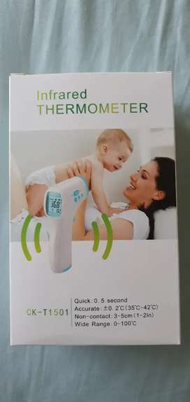 No contact infrared thermometers