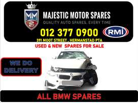BMW used spares and parts for sale Gauteng