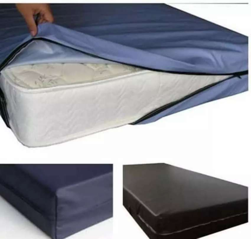 LEATHER WATERPROOF MATTRESS COVER 0