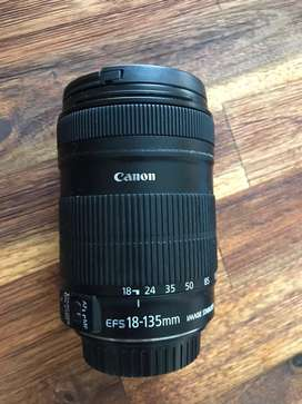 Cannon 18mm-135mm f3.5-5.6 STM