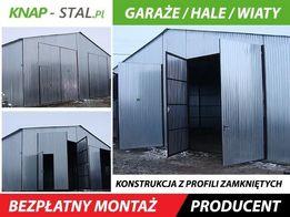 Garaż blaszany 10x5,garaże blaszane,wiaty,hale,schowki,blaszaki