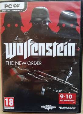 PC DVD ROM WOLFENSTEIN THE NEW ORDER