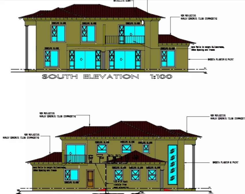 Estate House Plans 0