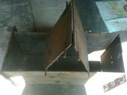 Форма опалубка на три шлакоблока или самана 810х400х280 мм
