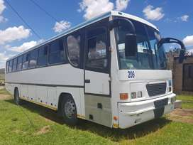 Make: BMC 65 seater bus, 2005 and ERF 65 seater bus, 2003