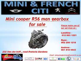 Mini cooper R56 manual gearbox for sale !!