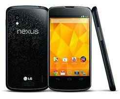 Смартфон LG Google Nexus 4 16GB с функцией беспроводной зарядки