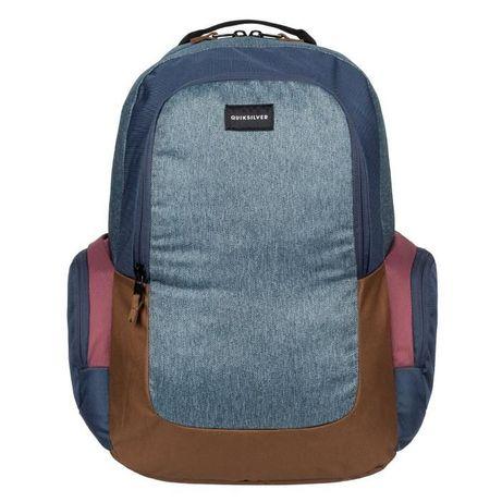 Рюкзак Quiksilver Schoolie Medium Backpack Black Check Denim Оригинал Николаев - изображение 6