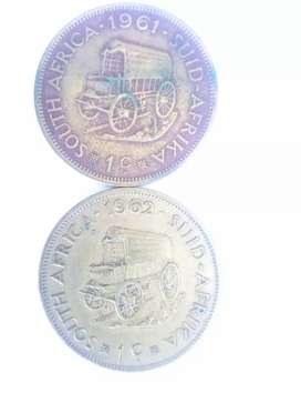 old south african coins R negotiable