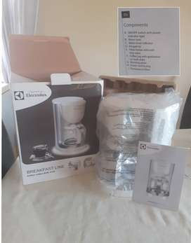 Electrolux coffee maker new