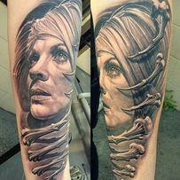 Tattoo tatuaż wykonanie jak w salonie