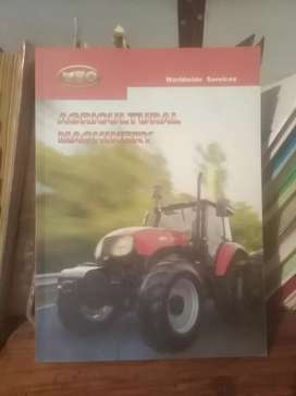 YTO tractor, mechanical book