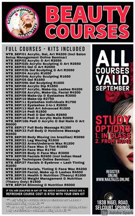 September Bauty Courses