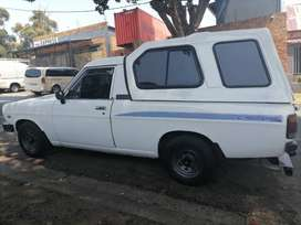 NISSAN 1400 CHAMP WITH CANOPY IN EXCELLENT CONDITION