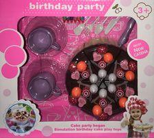 Zestaw Birthday Party Tort dla Dzieci Zabawka