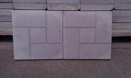 """Тротуарная вибролитая плитка """"калифорния"""" (пять камней) 300*300*30мм."""