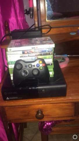 I you want a xbox 360with 10 games