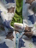 Bluza zapinana z kapturem