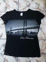 Bluzka czarna SAN FRANCISCO rozm. L / rozm. 164