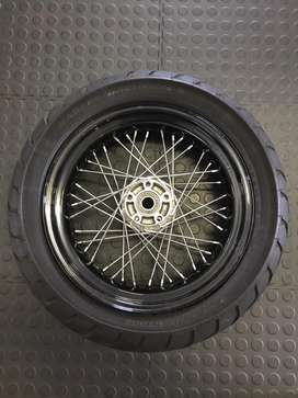 Harley davidson rear wheel