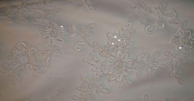 Sprzedam śliczną suknię ślubną z koronki. Przeworsk - image 4
