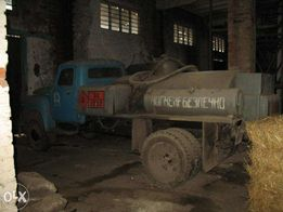 топливозаправщик, ГАЗ-52, бензовоз. водовоз, химовоз