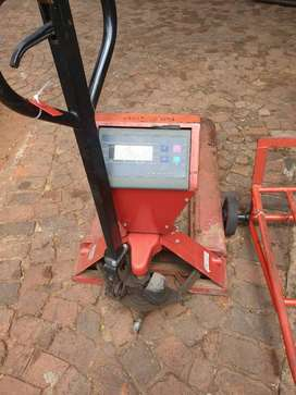 Floor scale / table top scale pallet jack scale and forklift scale