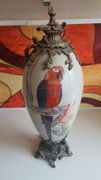 Stare porcelanowe jajko ozdobne