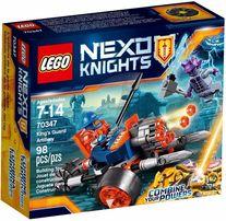 Lego Nexo Knights 70347 Artyleria Królewskiej Straży Nowe !