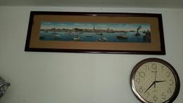 Репродукция-Panorama vom Hamburger Hafen