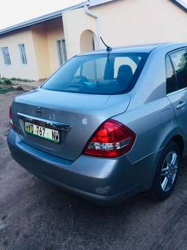 Nissan tiida 1.6 in good condition.
