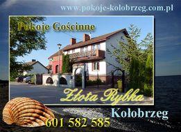 Pokoje, noclegi, kwatery Złota Rybka w Kołobrzegu