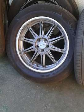 Mac rims met tyers