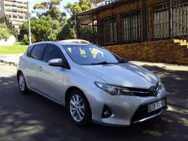 2013  TOYOTA AURIS 1.6 MANUAL