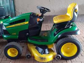 ride on mower with 21hp