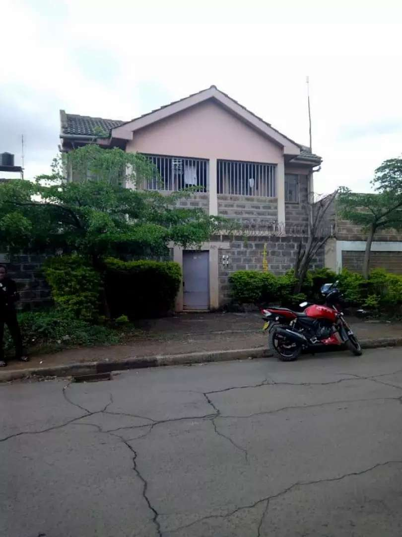 One bedroom house in a compound of four langata 17k 0