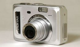 Цифровой фотоаппарат Pentax Optio S55: zoom 3x, 5Mpx, display 2,5'