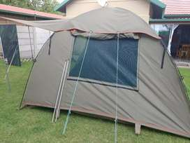 Canvass dome tent