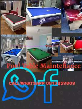 Pool Table Maintenance