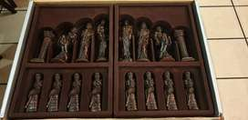 Imported chess hand crafted chess chess set