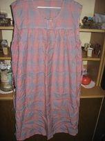 sukienka ciążowa r. XL w kratę