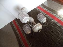 Люстра на три лампы