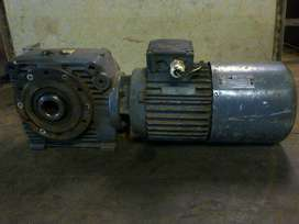 0.75kw Electric motor with gearbox
