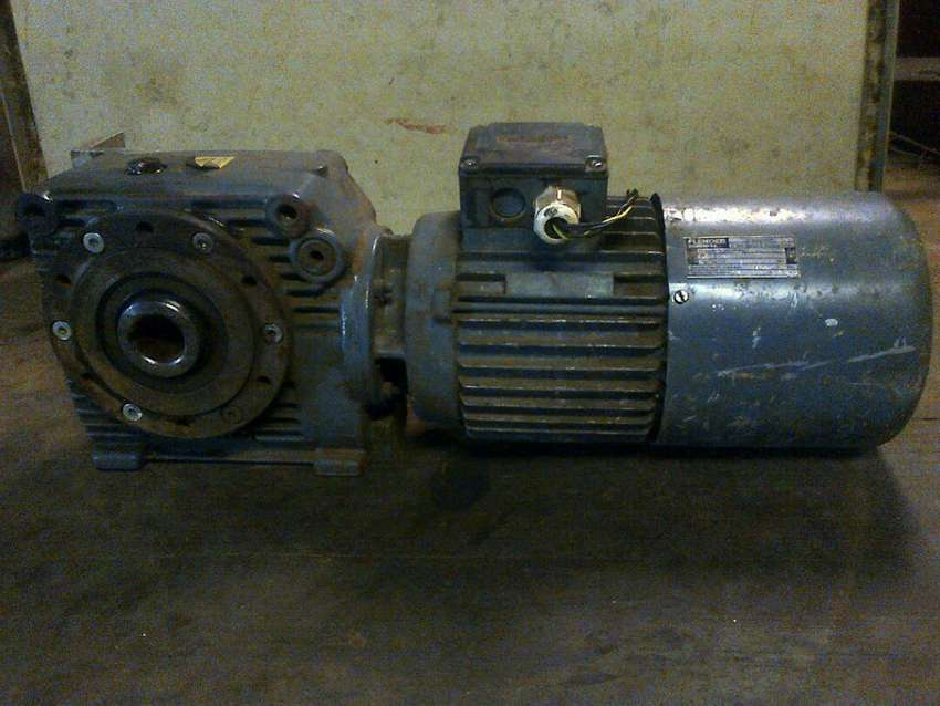 0.75kw Electric motor with gearbox 0