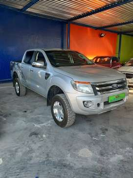 FORD RANGER TWIN CAB SILVER 2016