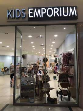 KIDS EMPORIUM franchise Urgent Sale !!