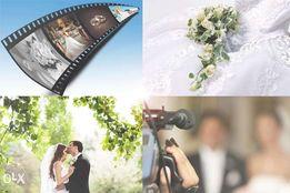 Видеосъемка и фотосъемка. Видеооператор на свадьбы, торжества.