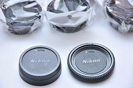 Nikon F Задняя крышка объектива+крышка/заглушка байонета комплект