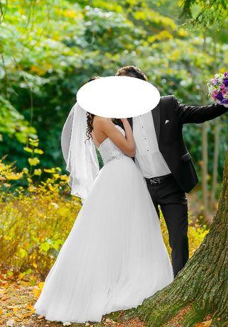 Suknia ślubna Justin Alexander 8724 rozm. 34 Strzelce Opolskie - image 6