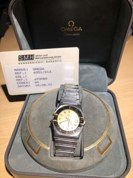 Omega Constellation 18k Gold/SS Ref.6051/013,Cal.1382, Ladies Watch
